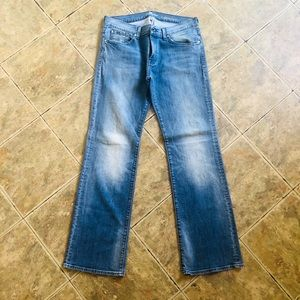 Men's 7 for all mankind jeans bootcut Sz 34/34